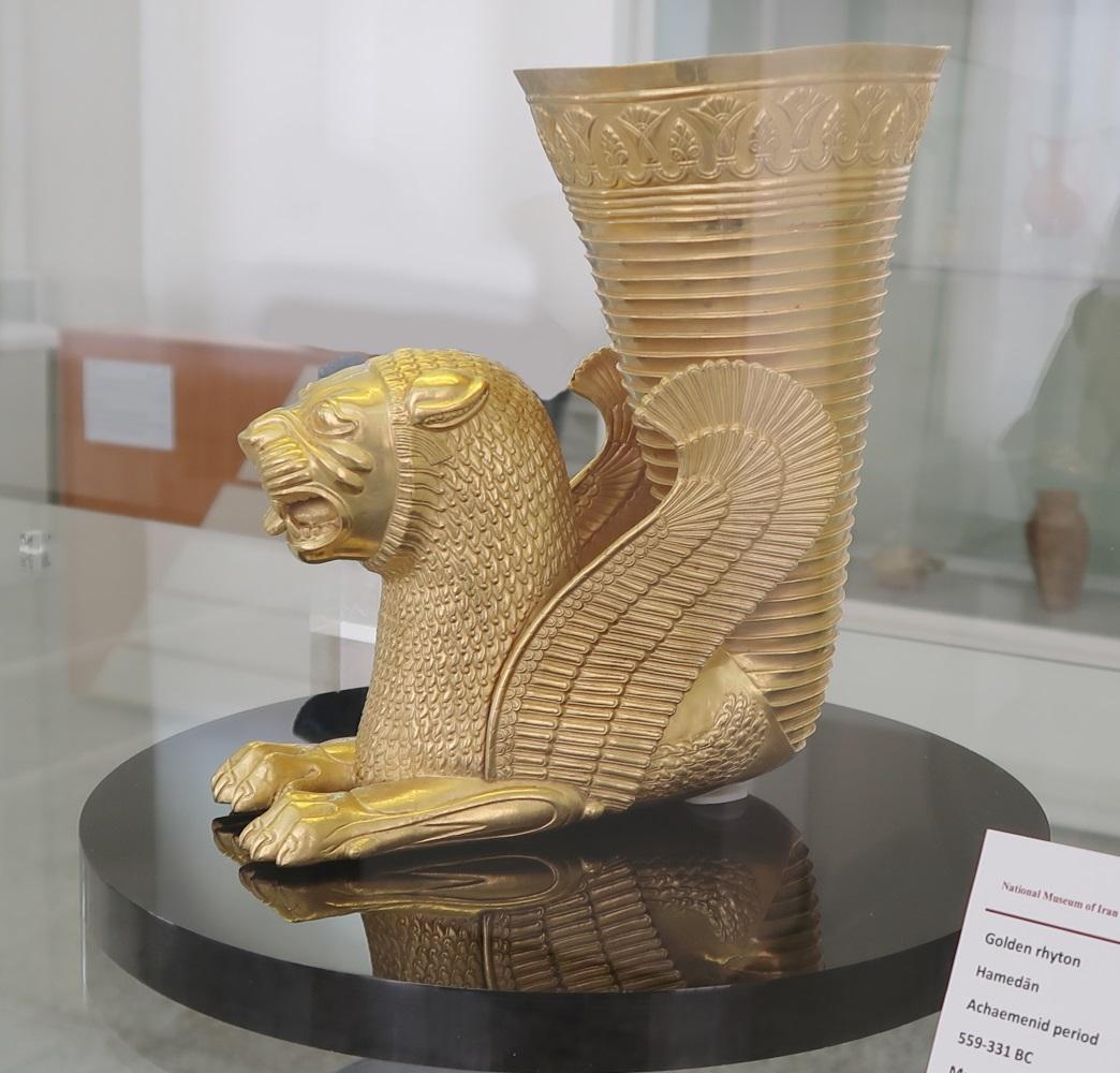 Drinks in Golden Vessels