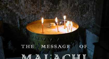 May 19, 2019 – Introduction to Malachi