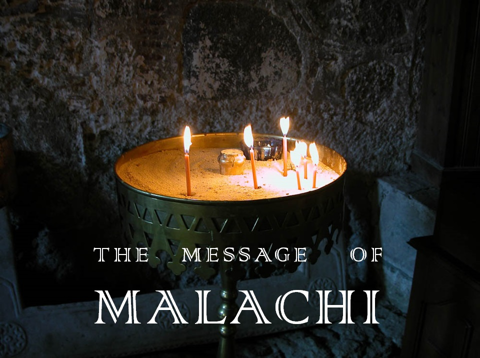 May 19, 2019 - Introduction to Malachi