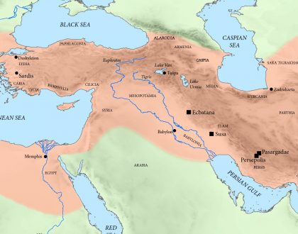 Where Was Daniel's Den of Lions?