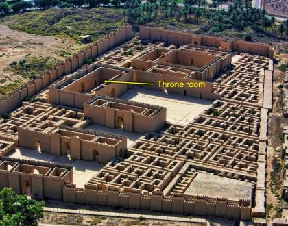 Belshazzar's Throne Room Identified