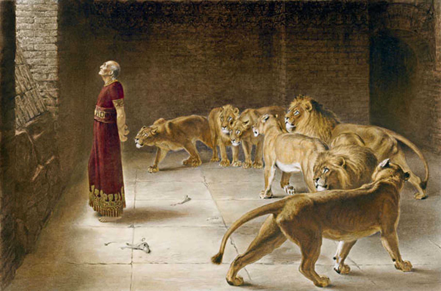 A Den of Lions in Babylon?