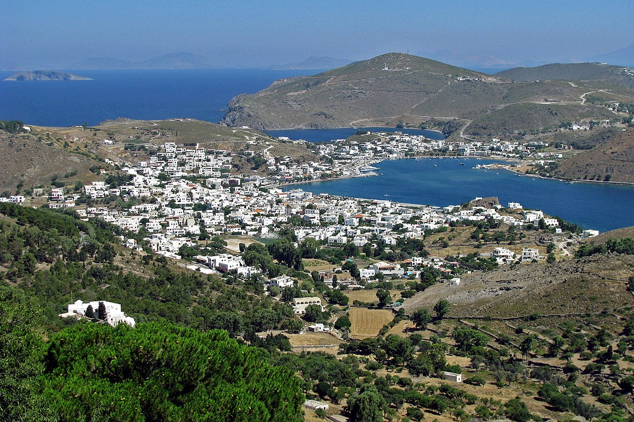 John on the Island of Patmos