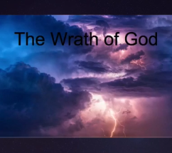 Christmas & God's Wrath - Rom 1:16-19 - Dec 8, 2019
