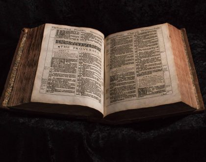 Bloopers in the Printing of the KJV
