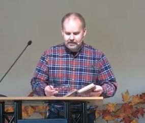 """""""On Giving Thanks,"""" Luke 17:11-19, Nov 29, 2020"""