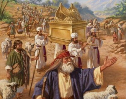 Joshua's Covenant Renewal at Shechem