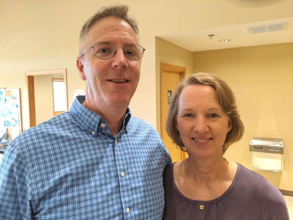 Rick and Joan Brown